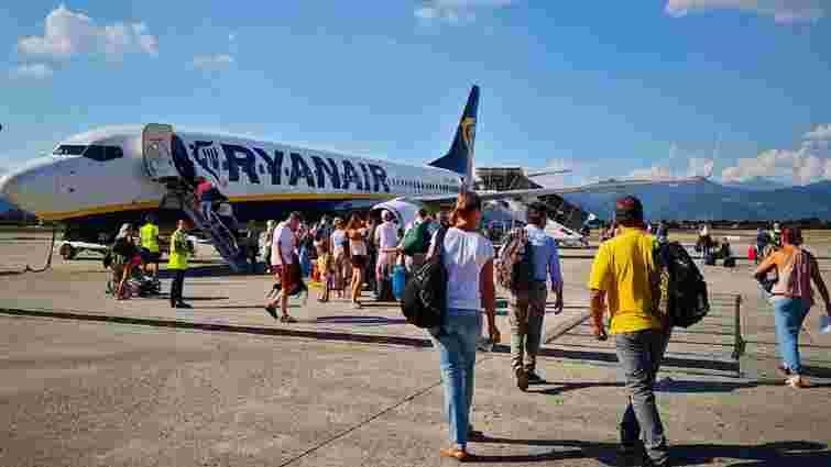 Літак Ryanair знову вилетів з польського аеропорту без пасажирів