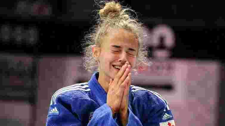 Дзюдоїстка Дар'я Білодід виборола бронзову олімпійську медаль