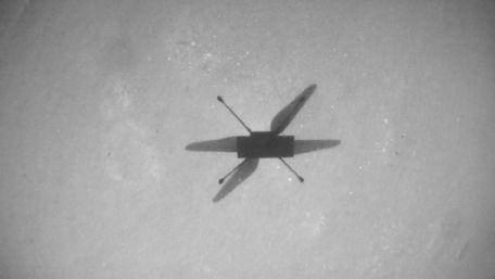 Вертоліт NASA «Винахідливість» пролетів на Марсі на рекордній висоті