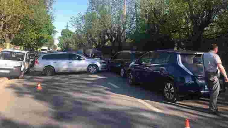 Суд покарав полковника міліції за чотири розбиті авто у Рясному