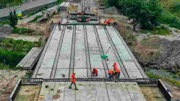 На трасі біля Ковеля зводять новий 24-метровий міст