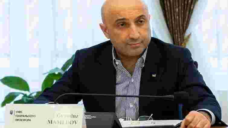 В Офісі генпрокурора заявили, що не можуть звільнити Гюндуза Мамедова