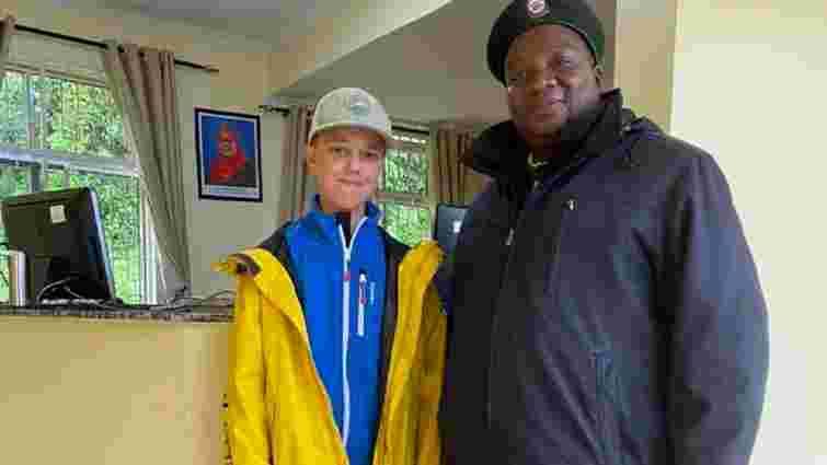 13-річний син голови Славського став наймолодшим українцем, який підкорив Кіліманджаро