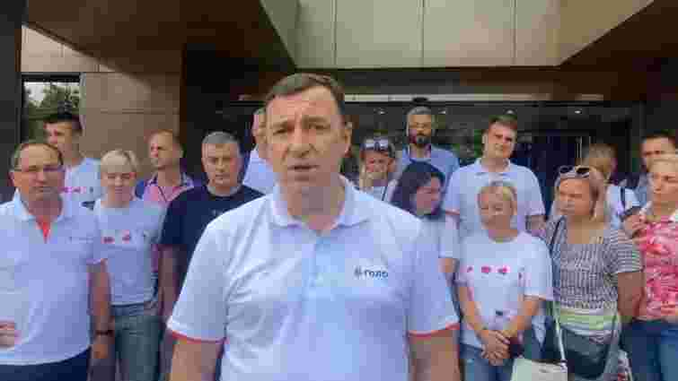 Львівські партійці «Голосу» заявили про узурпацію влади Кірою Рудик