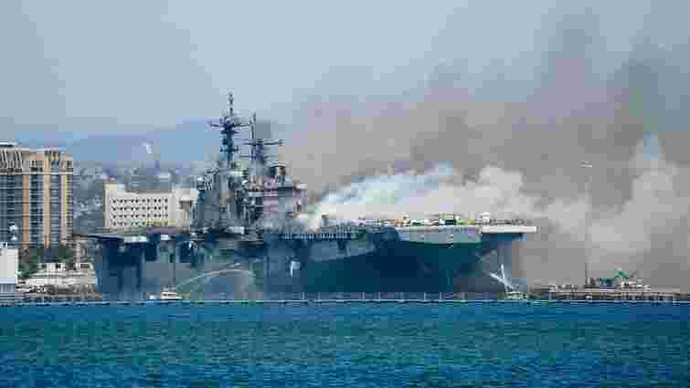 Американського моряка звинуватили в підпалі десантного корабля ВМС США