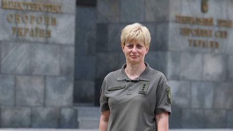 Львів'янка Тетяна Остащенко стала першою жінкою на посаді командувача у ЗСУ
