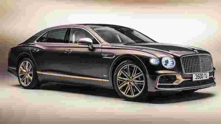 Bentley представила дуже особливий люксовий седан Flying Spur Hybrid Odyssean Edition