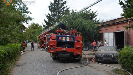 Масштабна пожежа в Ужгороді знищила брендовий алкоголь на суму 12 млн грн