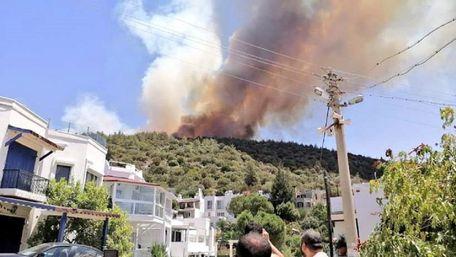 З турецьких готелів виселяють туристів через лісові пожежі