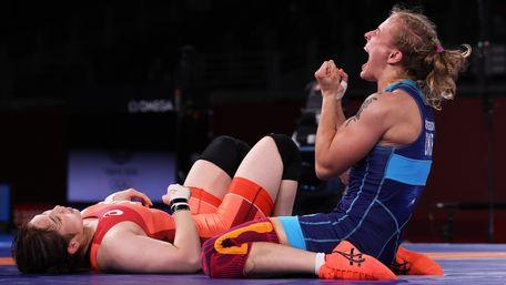Львівська борчиня Алла Черкасова стала бронзовою призеркою Олімпіади