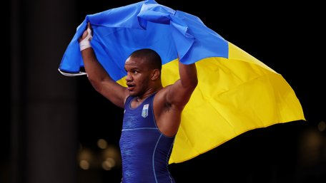 Український борець Жан Беленюк став олімпійським чемпіоном