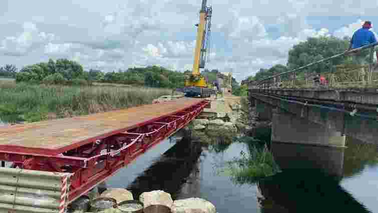 У Гайку почали будувати новий міст через річку Західний Буг