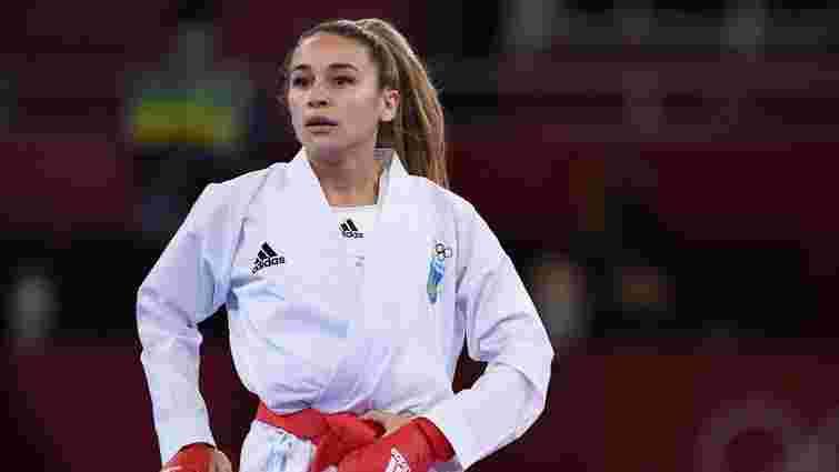 Українська каратистка Анжеліка Терлюга виграла олімпійське срібло