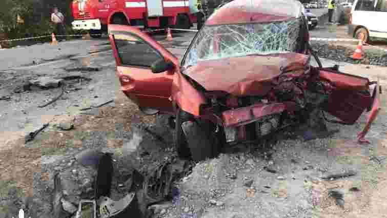 За смертельну ДТП із сім'єю львів'ян поліцейського взяли під варту