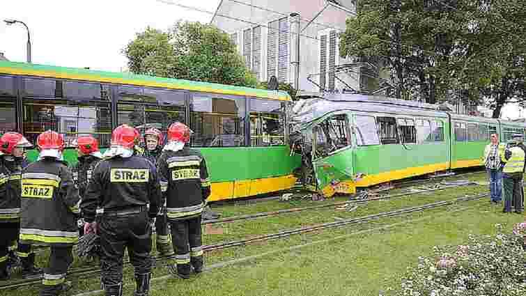 Понад 30 людей постраждали від зіткнення трамваїв у Познані