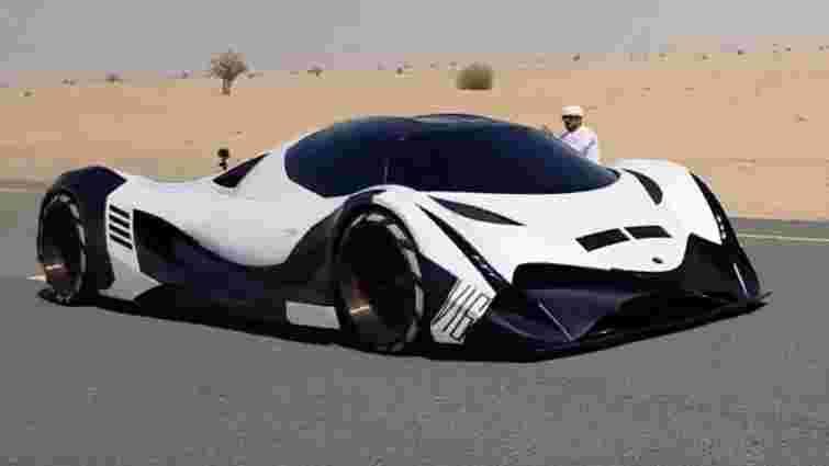 Арабський суперкар потужністю  5000 кінських сил показали на відео