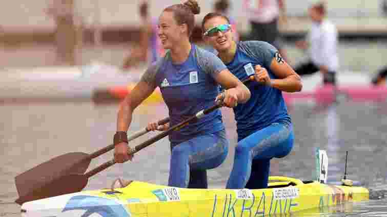 Українські веслувальниці виграли срібло в каное-двійці на Олімпіаді