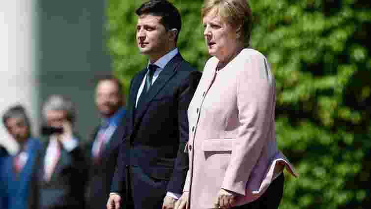 Ангела Меркель та Володимир Зеленський проведуть переговори в Києві 22 серпня