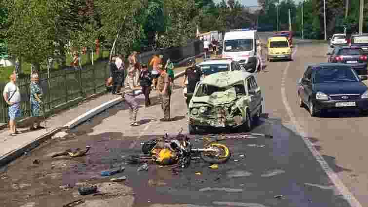 22-річний мотоцикліст загинув у ДТП біля Мостиськ