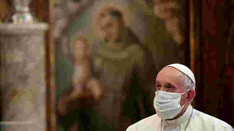 Папа Римський закликав католиків вакцинуватися проти коронавірусу