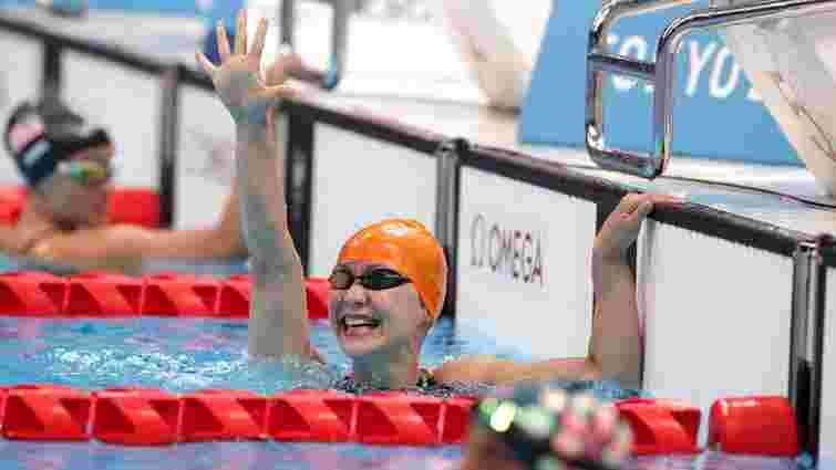 Плавчиня Єлизавета Мерешко виборола срібну медаль на Паралімпіаді-2020
