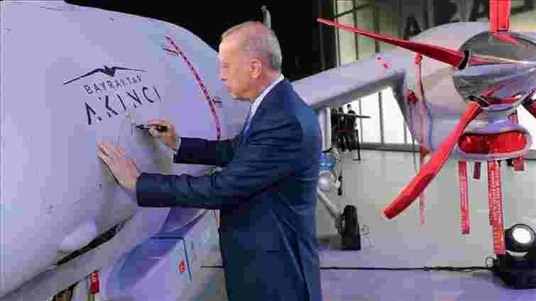 Туреччина взяла на  озброєння ударний безпілотник Bayraktar Akinci з українськими двигунами