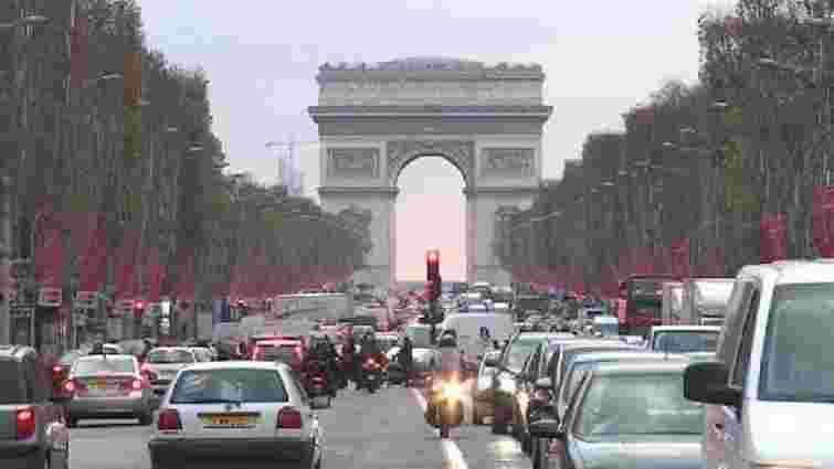 У Парижі швидкість руху автотранспорту обмежили до 30 км/год