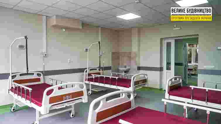 У райлікарні Хуста відкрили оновлене відділення екстреної медичної допомоги