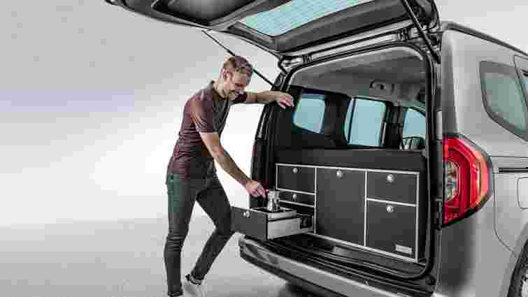 Mercedes-Benz Citan отримав ліжко і кухню