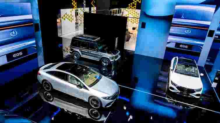 На автосалоні у Мюнхені Mercedes показав сім нових електромобілів