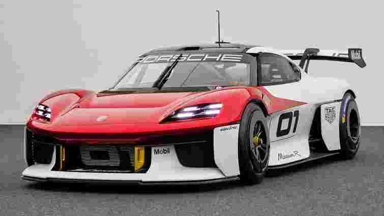 Porsche показала електричний болід Mission R Concept