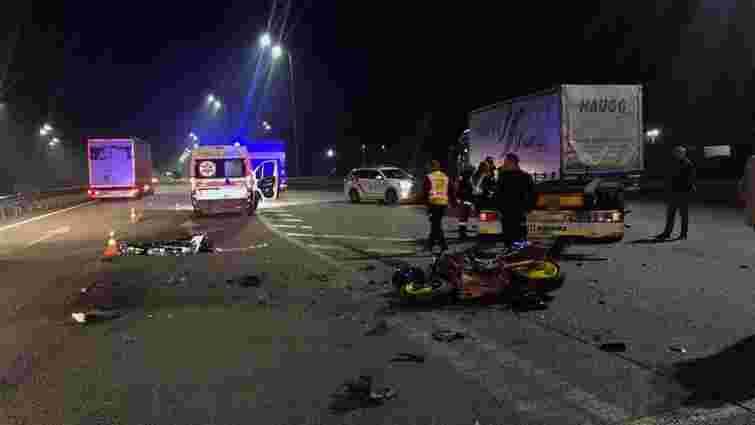 На трасі неподалік Дубна у ДТП з фурою загинув 23-річний мотоцикліст