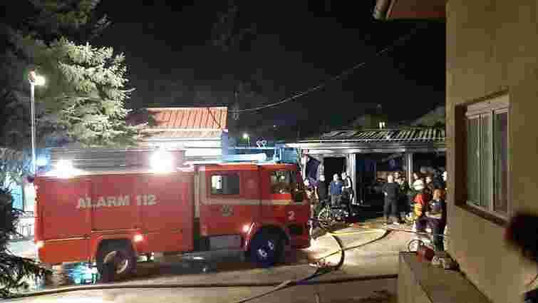 Тимчасова Covid-лікарня згоріла в Північній Македонії, 14 загиблих