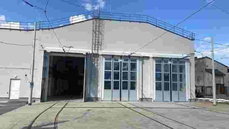 У Львові завершили реконструкцію трамвайного депо на вул. Промисловій