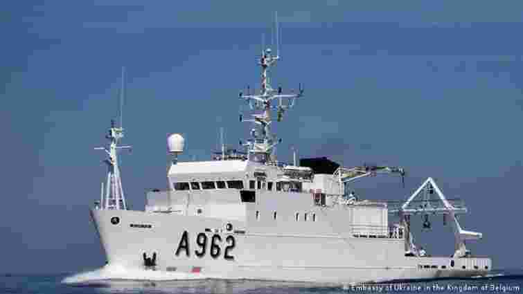 Бельгія подарувала Україні судно для дослідження Чорного і Азовського морів