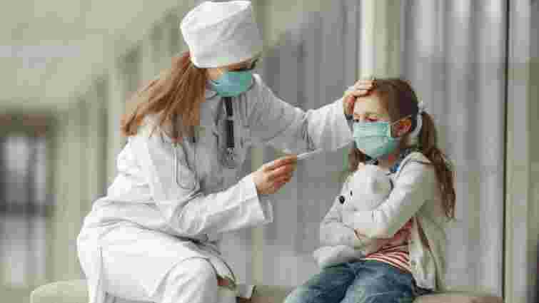 Частка дітей серед хворих на коронавірус перевищила 10%
