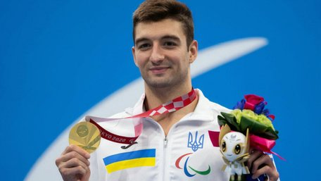 Український плавець Максим Крипак отримав звання Героя України