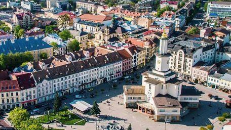 Івано-Франківськ зайняв третє місце у рейтингу найкращих міст в Україні