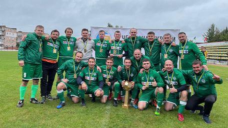 Команда львівських лікарів стала чемпіоном України з футболу серед медиків