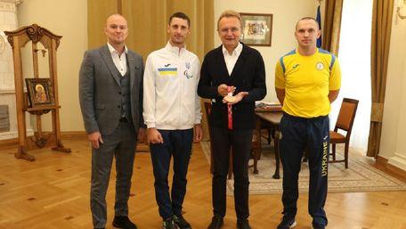 Львів'яни-призери Паралімпіади отримали грошові премії від мерії