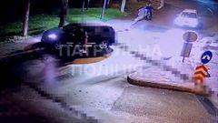 У Львові затримали двох п'яних водіїв, що чергувалися за кермом і вчинили ДТП