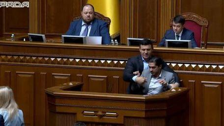 Регламентний комітет не зміг покарати Тищенка і Лероса через бійку в Раді