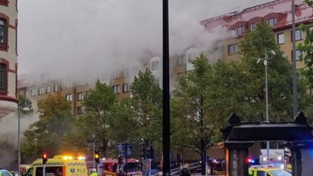 У шведському Гетеборгу внаслідок вибуху у багатоповерхівці постраждали 25 людей