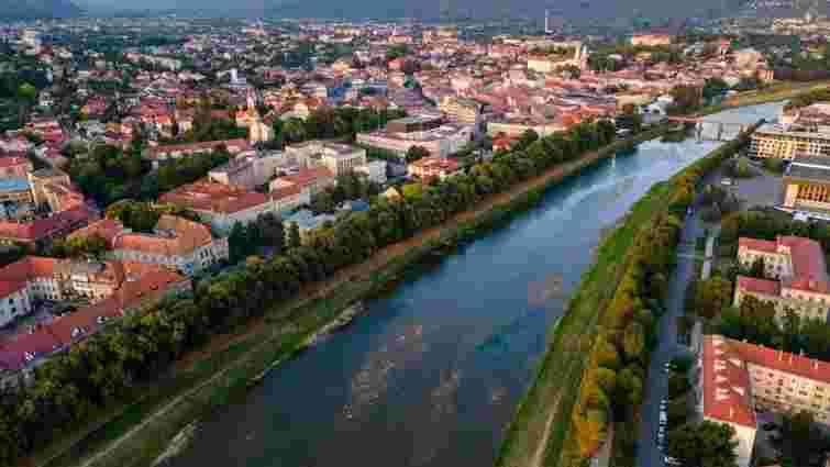 На річці в Ужгороді планують збудувати динамічну греблю