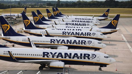 Ryanair не обслуговуватиме клієнтів, які примусово повернули гроші за квитки