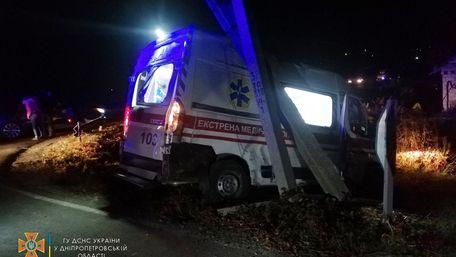 Внаслідок зіткнення маршрутки і «швидкої» постраждали 6 людей