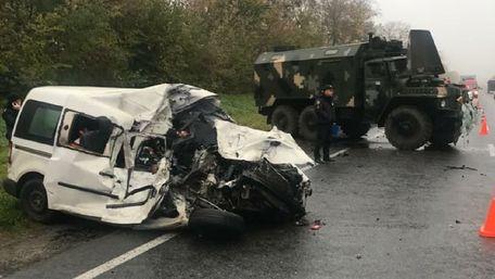 Двоє людей загинули у ДТП з військовим «Уралом» на Львівщині