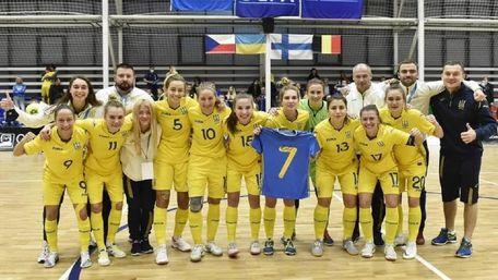 Жіноча збірна України з футзалу вийшла до фіналу Євро-2022