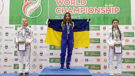 Львівська студентка виборола чотири золота на чемпіонаті світу з гирьового спорту
