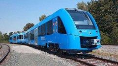 В Німеччині виконав тестовий рейс перший у світі потяг на водневому паливі